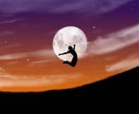 Noite engraçada da criança Fotografia de Stock Royalty Free