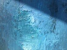 Noite escura do cosmos profundo do índigo fundo Escuro-azul com texturas naturais da pintura do índigo O contexto noturno de surp Foto de Stock