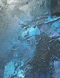 Noite escura do cosmos profundo do índigo fundo Escuro-azul com texturas naturais da pintura do índigo O contexto noturno de surp Imagens de Stock