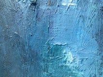 Noite escura do cosmos profundo do índigo fundo Escuro-azul com texturas naturais da pintura do índigo O contexto noturno de surp Fotografia de Stock