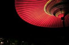 Noite escura em Kyoto, Japão imagem de stock