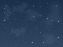 Noite estrelado [3] Imagem de Stock