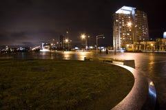 Noite grande da cidade Foto de Stock Royalty Free