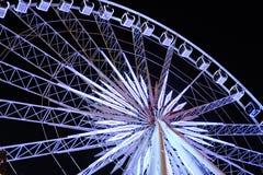 Noite grande de Ferris Wheel Happy Foto de Stock Royalty Free
