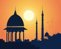 Noite indiana ilustração do vetor