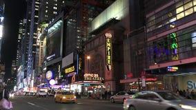 Noite 4K de New York City filme