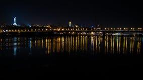 Noite Kiev Foto de Stock