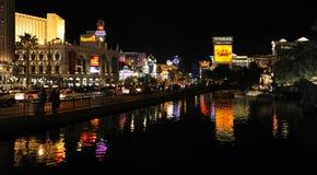Noite Las Vegas. Imagem de Stock Royalty Free