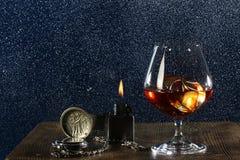 Noite masculina apenas Imagem de Stock Royalty Free