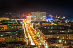 Noite Murmansk Imagens de Stock Royalty Free