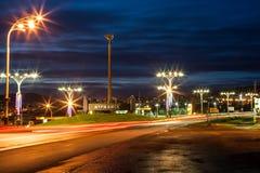 Noite Murmansk Foto de Stock
