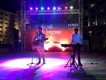 Noite musical Foto de Stock Royalty Free