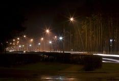 Noite na cidade Foto de Stock Royalty Free