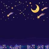 Noite na cidade Imagem de Stock Royalty Free