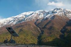 Noite nas montanhas. Nepal Foto de Stock