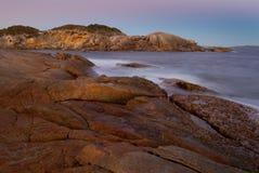 Noite nas rochas Imagens de Stock Royalty Free