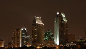 Noite nevoenta Imagem de Stock Royalty Free