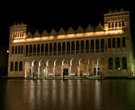 Noite no Canale grande em Veneza Imagens de Stock