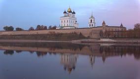 Noite no Kremlin de Pskov, Rússia de outubro filme
