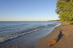 Noite no Lago Superior imagem de stock royalty free