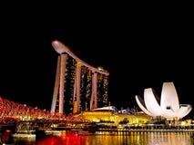Noite no louro do porto Foto de Stock