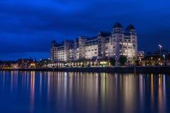 Noite Oslo Fotos de Stock