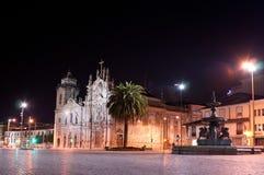 Noite Porto Fotografia de Stock Royalty Free