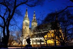 Noite Praga Imagens de Stock Royalty Free
