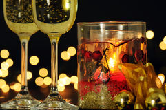Noite romântica Foto de Stock Royalty Free