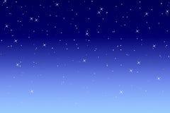Noite romântica ilustração do vetor