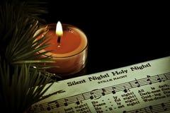 Noite silenciosa Fotografia de Stock Royalty Free