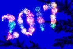 Noite sonhadora do feriado Fotografia de Stock Royalty Free