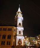 Noite St Petersburg Fotos de Stock Royalty Free