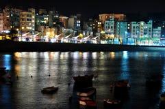 Noite Stanley em Hong Kong Imagem de Stock