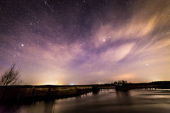 Noite surpreendente Fotos de Stock