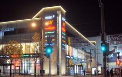 Noite Tallinn Imagens de Stock