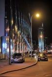 Noite Tallinn Fotos de Stock