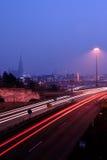 Noite Ulm Fotografia de Stock