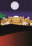 Noites árabes ilustração do vetor