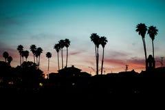 Noites californianas do verão imagens de stock royalty free