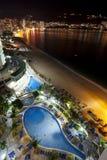 Noites de Acapulco imagens de stock