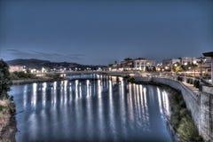 Noites de Napa Valley Imagens de Stock