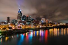 Noites de Nashville Fotografia de Stock Royalty Free