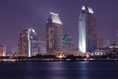 Noites de San Diego Fotos de Stock Royalty Free