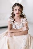 A noiva é triste Fotografia de Stock