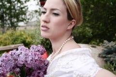 Noiva 1 do casamento Imagens de Stock Royalty Free