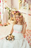 Noiva Fotografia de Stock Royalty Free