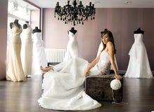 Noiva Fotografia de Stock