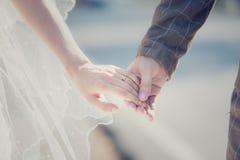 A noiva aceita Foto de Stock