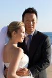 Noiva & noivo Fotografia de Stock Royalty Free